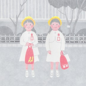 MJイラストレーションズ課題「少女時代」