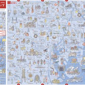 東京お祭りマップ 表
