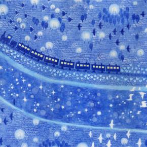 銀河鉄道の夜 装画