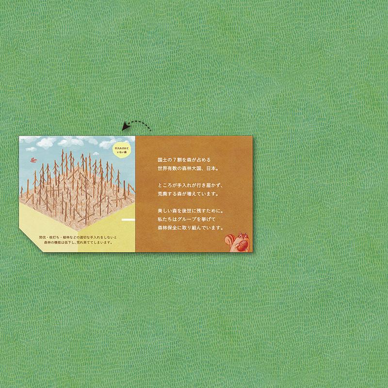 緑をつなぐプロジェクト 展開2/6 枯れた森