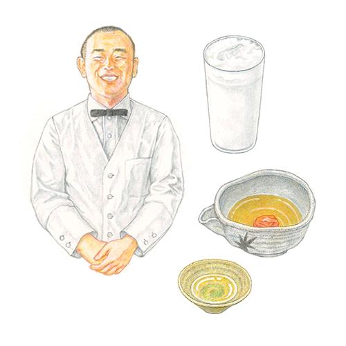 dancyu 2019年3月号 日本酒特集 イラストカット2