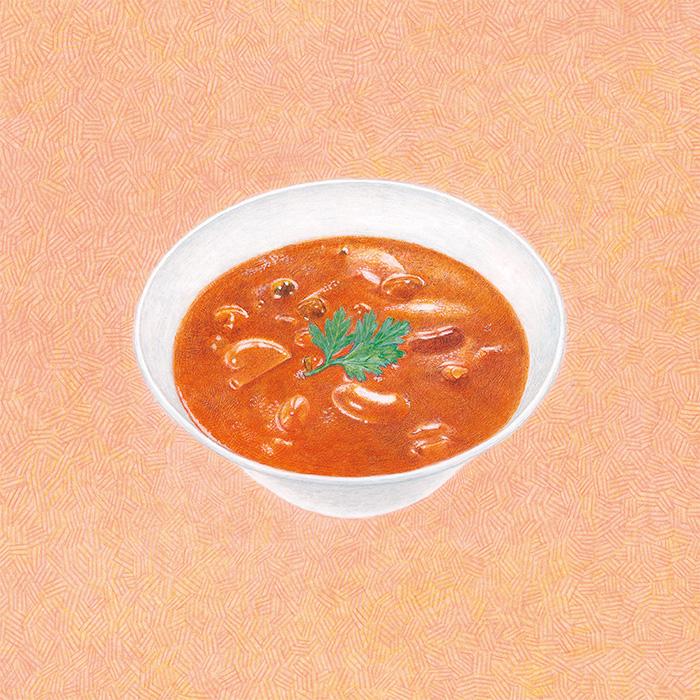 グルテンフリー きのこと豆カレー