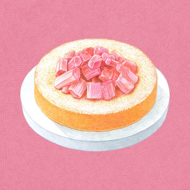 レモンポレンタケーキ