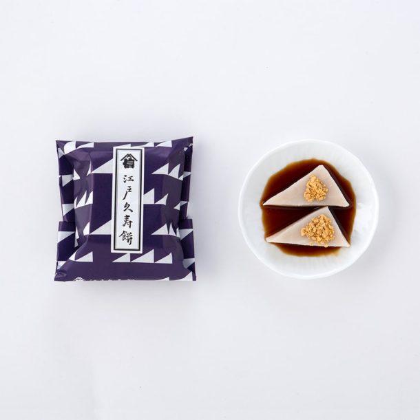 江戸久寿餅 黒蜜きな粉 ミニ