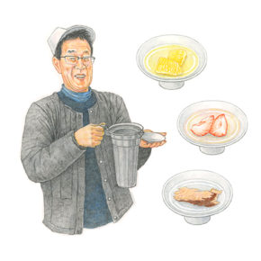 dancyu 2019年3月号 日本酒特集 イラストカット4